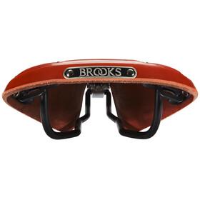 Brooks B17 Standard Classic Kernledersattel Herren red